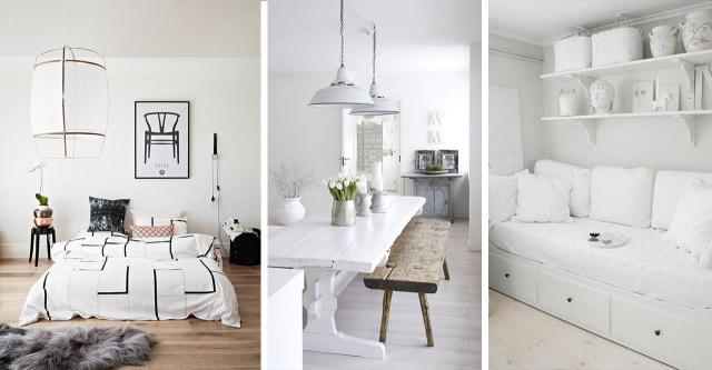 Białe wnętrza w domu - znajdź harmonijny układ
