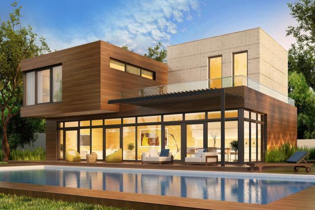 budowla, dom, architektura