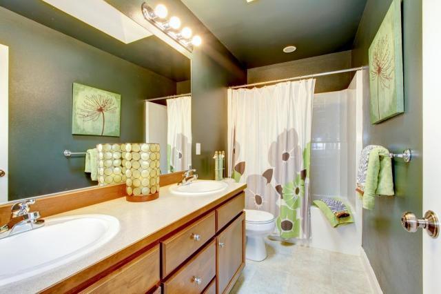 porządek w łazience, czysta łazienka, łazienka