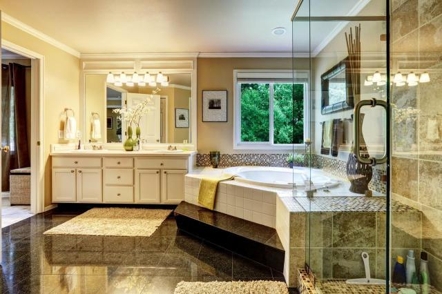 łazienka, czysta łazienka