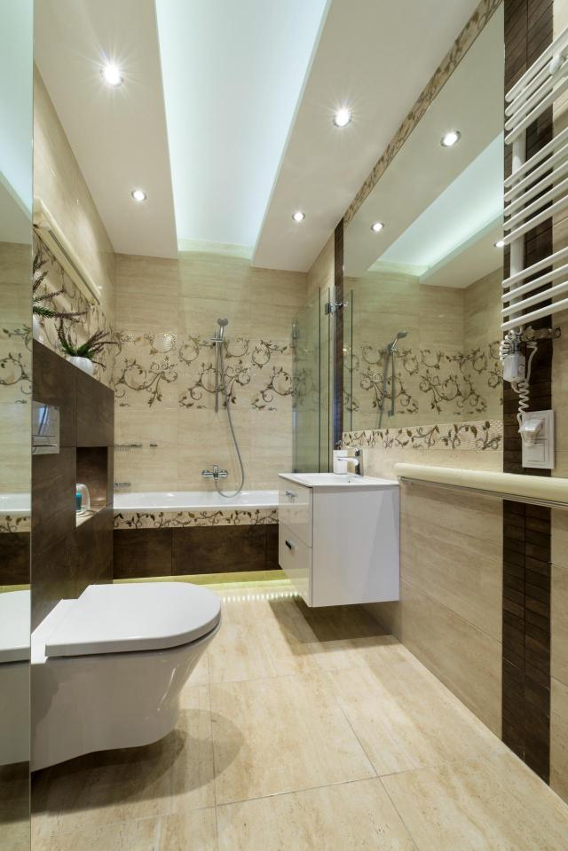 funkcjonalna łazienka, mała łazienka