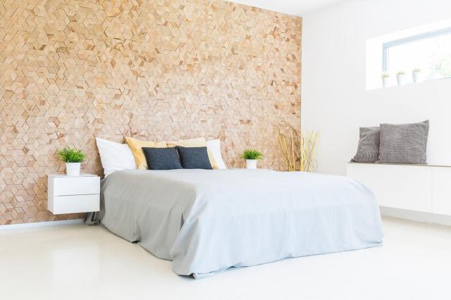 sypialnia, aranzacja sypialni, styl skandynawski