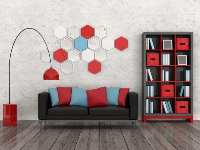 dekoracja ścian, aranżacja wnętrz