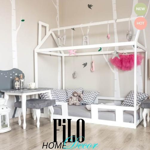Łóżko domek drewniany – dobry wybór pod każdym względem