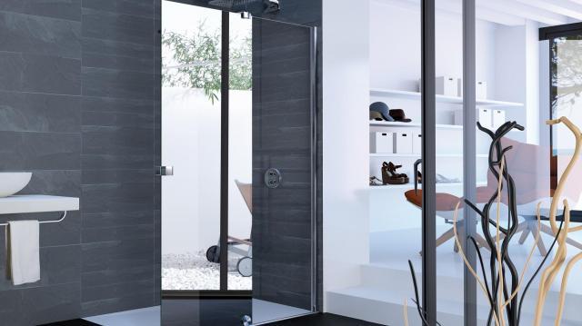 kabina prysznicowa, lazienka, artykul sponsorowany