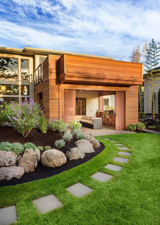aranżacje ogrodów, ogrody