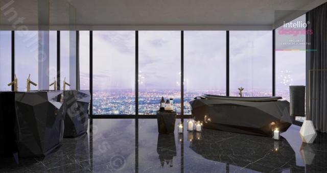 Penthouse - luksus na szczycie marzeń
