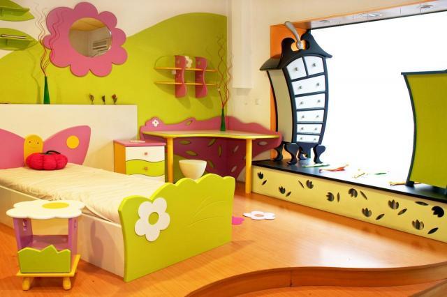 pokój dziecka, pokój, wnętrze