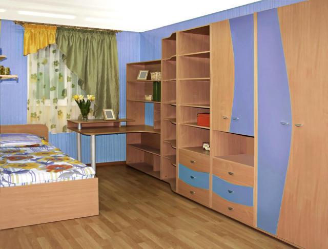 wnętrza, pokój dziecka