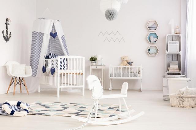 Genialne wnętrza dziecięcego pokoju - galeria inspiracji