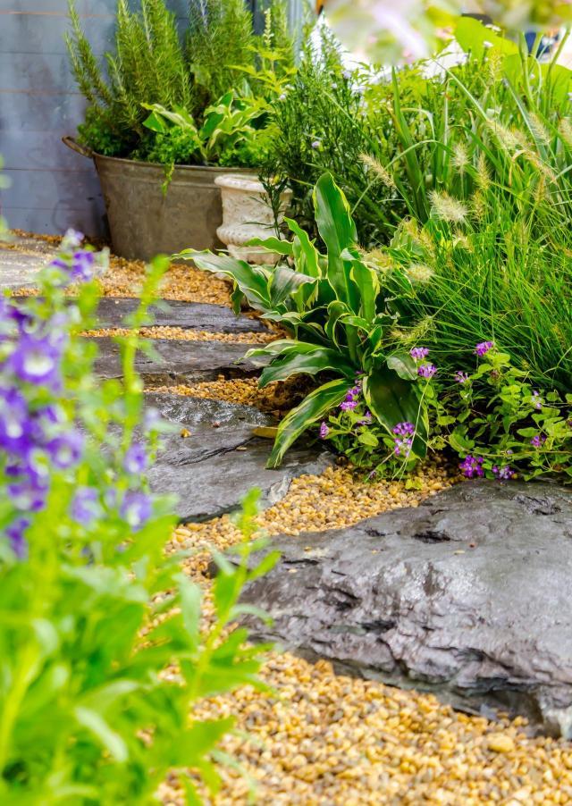 ogród, ogród przydomowy