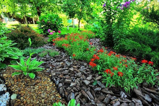 ogród przydomowy, ogród