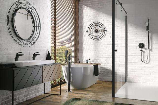 Najnowsze trendy: łazienka w czerni