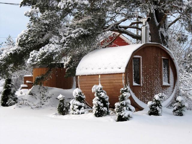 Ruska bania – oryginalna sauna ogrodowa