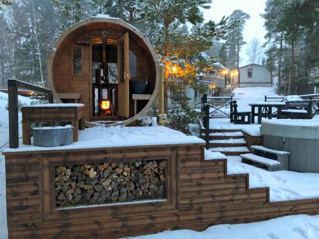 bania, ruska bania, sauna ogrodowa, artykuł partnerski
