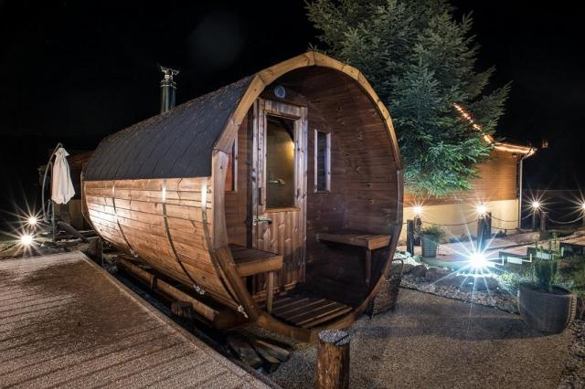 ruska bania, sauna ogrodowa, artykuł partnerski, bania