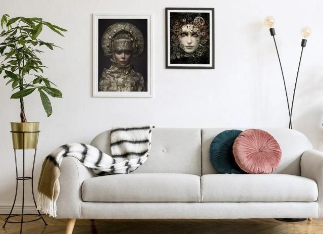 Domowa galeria ścienna – inspiracje